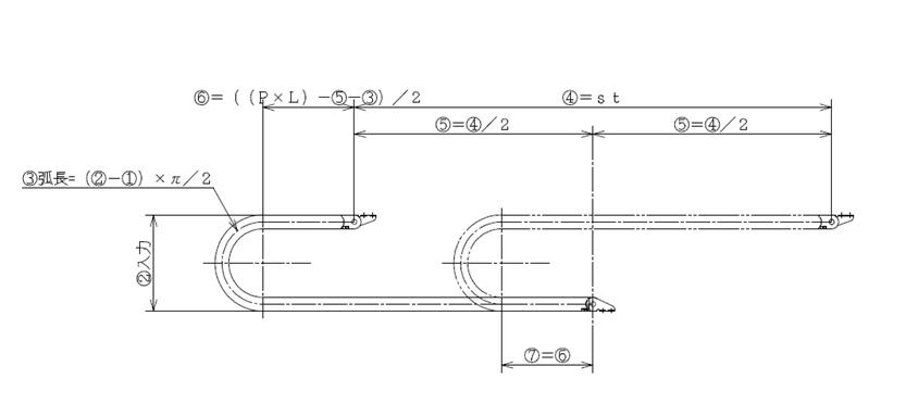 ケーブルベアのキリの良い設置寸法の決め方