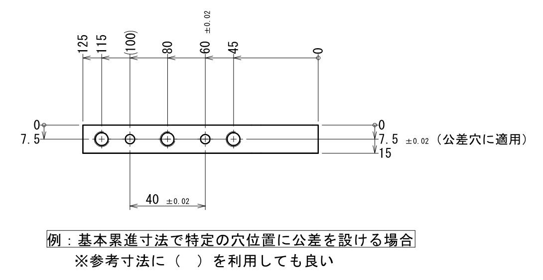 例_累進寸法と並列寸法