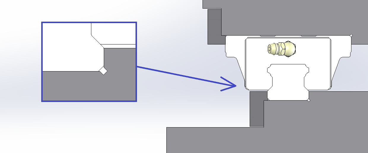 THKのLMガイドにおける取付け面の平行度と設計の補足4