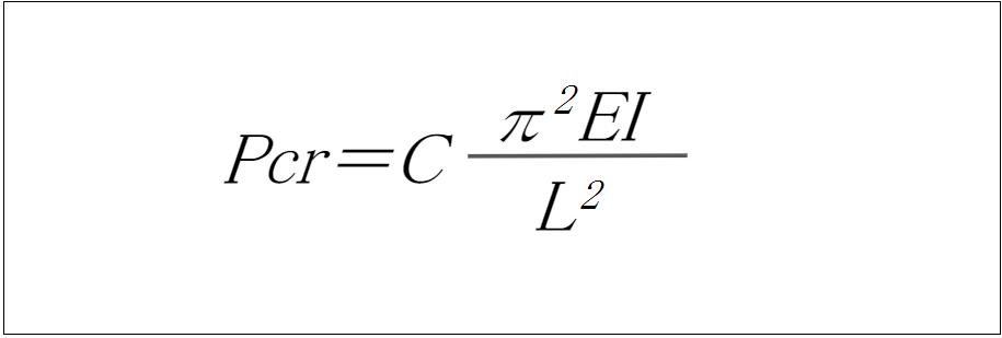 座屈荷重・座屈応力の計算式と必要な情報まとめ_1