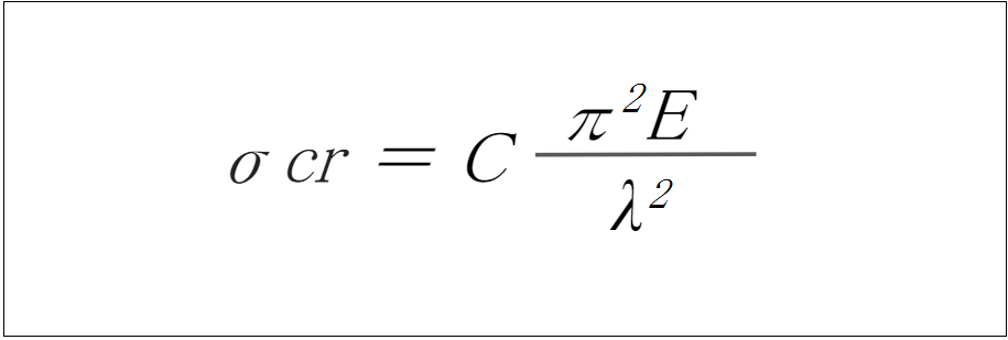 座屈荷重・座屈応力の計算式と必要な情報まとめ_2